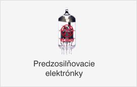 Predzosilňovacie elektrónky